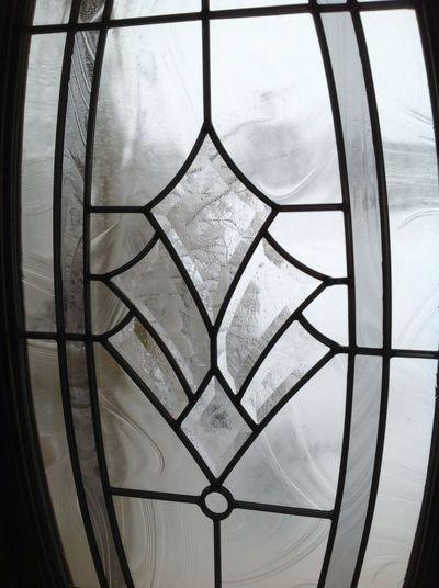 Blizzard Dec 2012 Looking Out My Front Door
