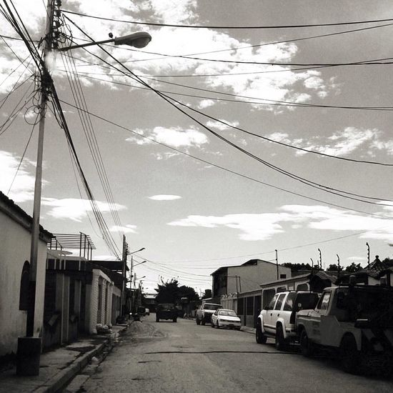 Hanging Out Blackandwhite Maracay
