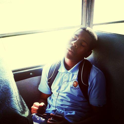 Nigga Sleep On Bus