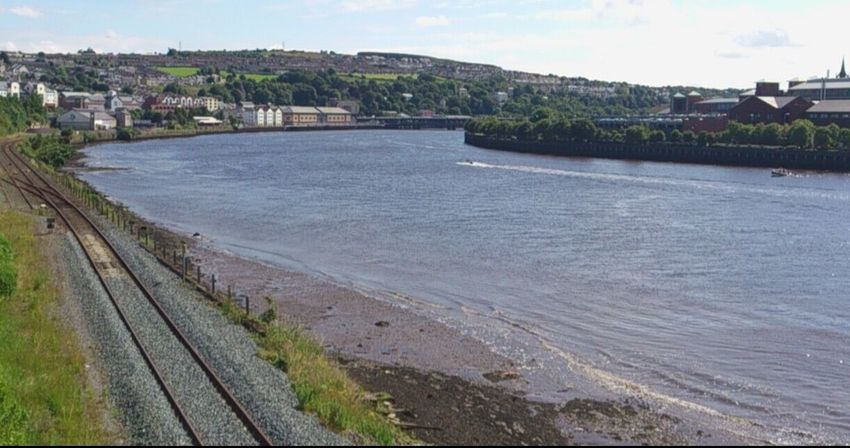 keep on Track to the heart of Derrtmy/Londonderry Londonderry Outdoors Beach Sand Sky Day No People Travel Destinations