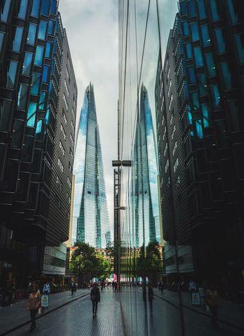 The Shard London Reflection