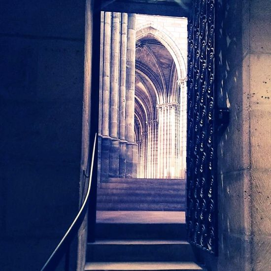 Architecture No People Arch Basilique De Saint-Denis Paris 93 Crypte