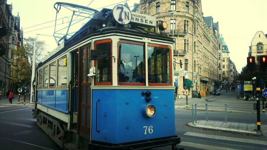 Trams Stockholm