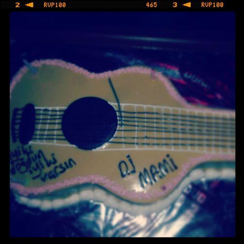 Doğum Günüm :) Gitar Cake