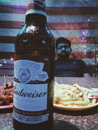 Chilledbeer Saturdaynight Friends Beer Frenchfries Enjoying Life Relaxing LifeIsGood💜
