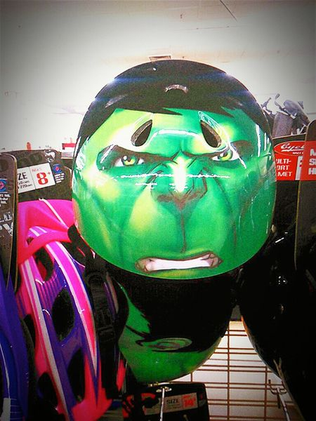 The Hulk Bicycle HelmetMarvel Comics Check This Out Marvel Green Face The Incredible Hulk Hulk Super Hero Avengers Greenface Face Green Color Green Faces Pulse Rate Rising Green Green Green!  Hulkface Marvelcomics Marvellengends The Green Man Theincrediblehulk Thehulk The Hulk ! MarvelHeroes