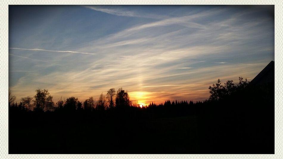 Sunset April 29, 2014 Sun Set Nature Clouds