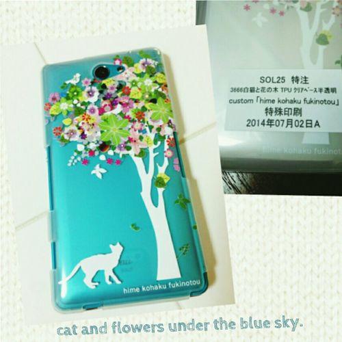 花のもの、そのに。 Flower Cat Fone Case
