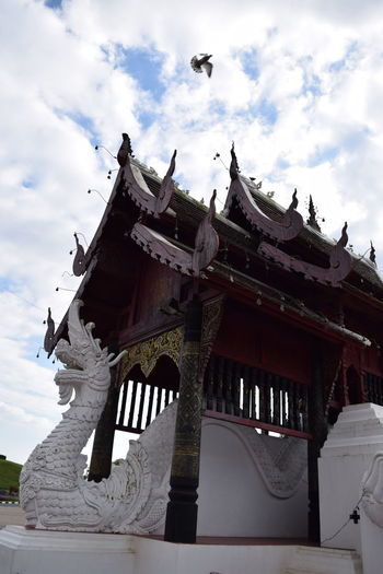 Architecture Belief In Thailand Craft Work Faith And Devotion Old Buildings Outdoors Peace And Love Temple - Building