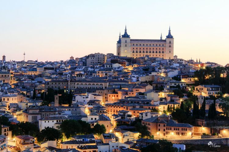Mirador del Valle ,Toledo Architecture Cityscape Residential Structure Illuminated First Eyeem Photo