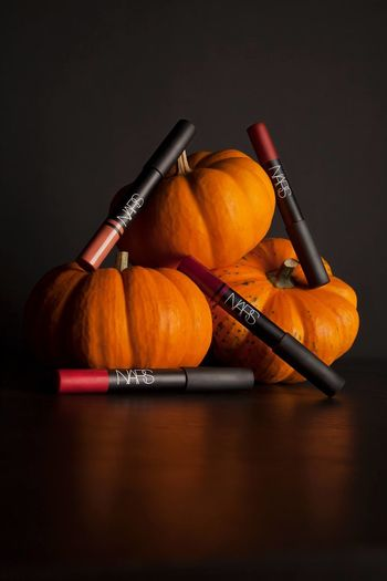 Autumn Light And Shadow NARS Product Photography Pumpkin Still Life Studio Photography Studio Shot