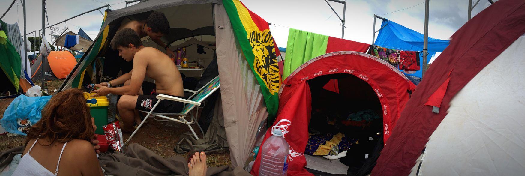 Enjoying Life Love RASTA Weed Rototomsunsplash Rototom Smoke Weed Campinglife Friends Camping Out
