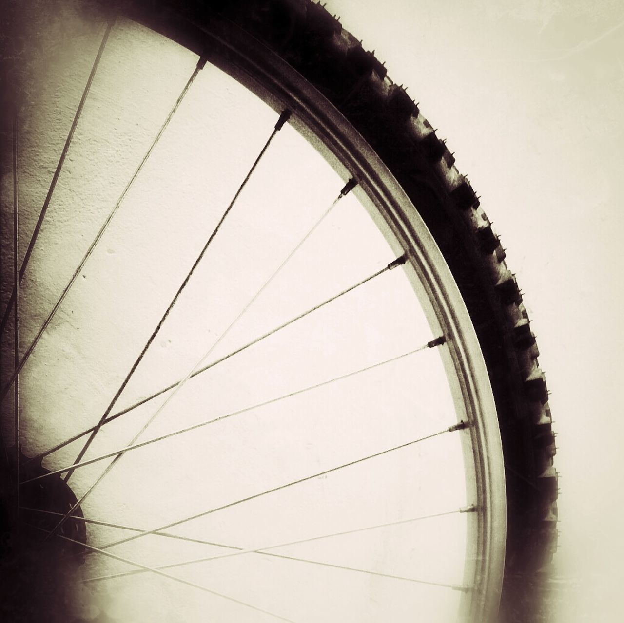 wheel, no people, day, tire, transportation, close-up, outdoors, white background