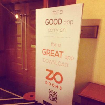 Go the Zo way ! ZORooms Goininforthekill
