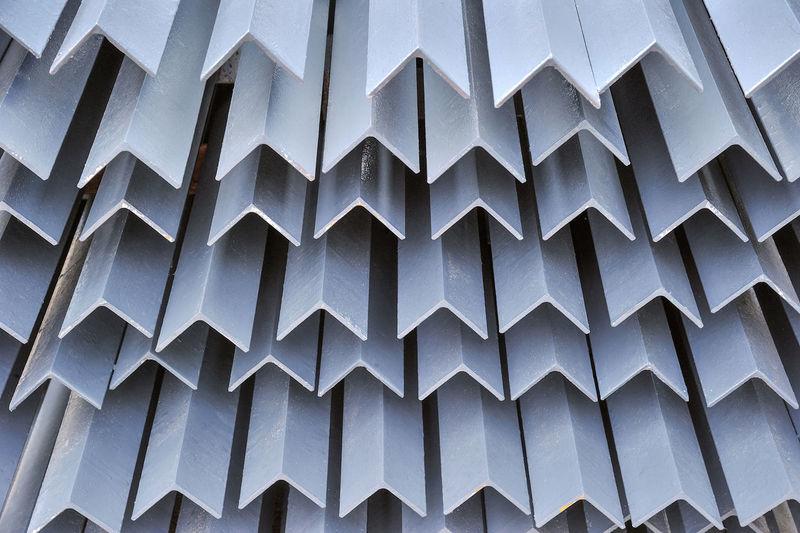 Full frame shot of modern building roof