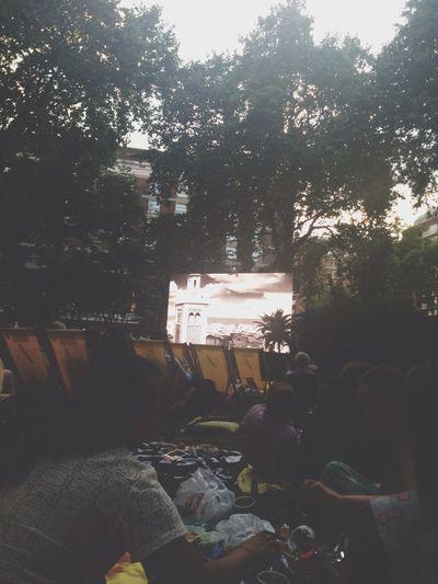 Outdoor Cinema Casablanca