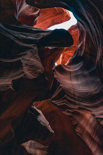 Full frame shot of rock formation at antelope national park