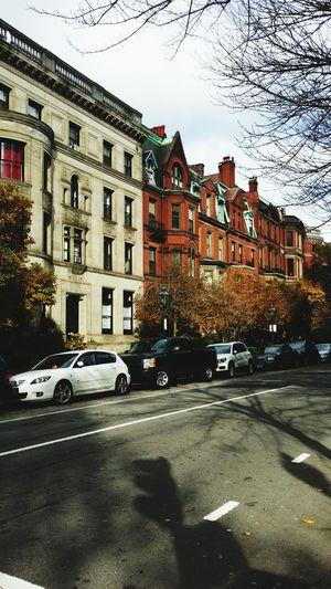 Traveling Boston, Massachusetts Fall Taking Photos