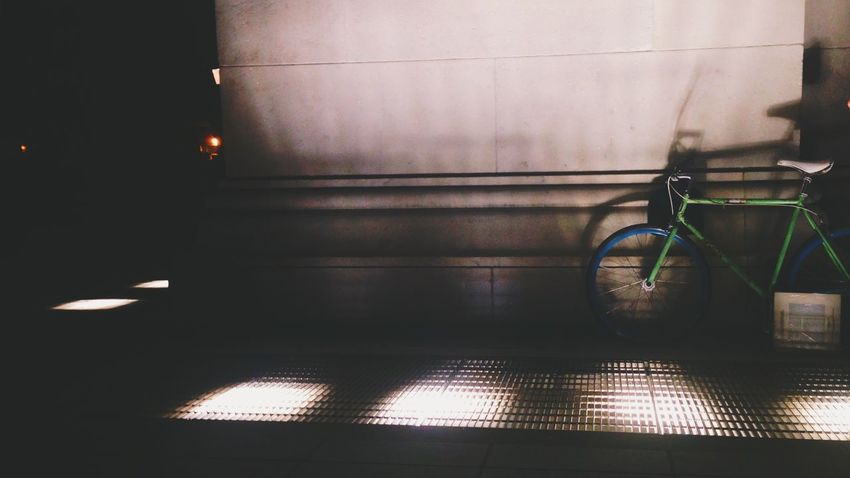 I got your bike. Light And Shadow Bicycle Vscocam Night Photography EyeEm Best Shots