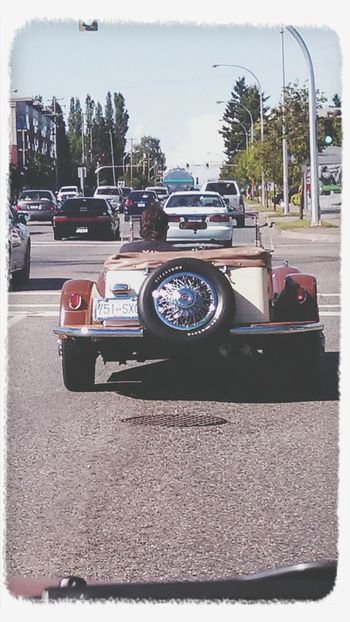 Nice vintage car!