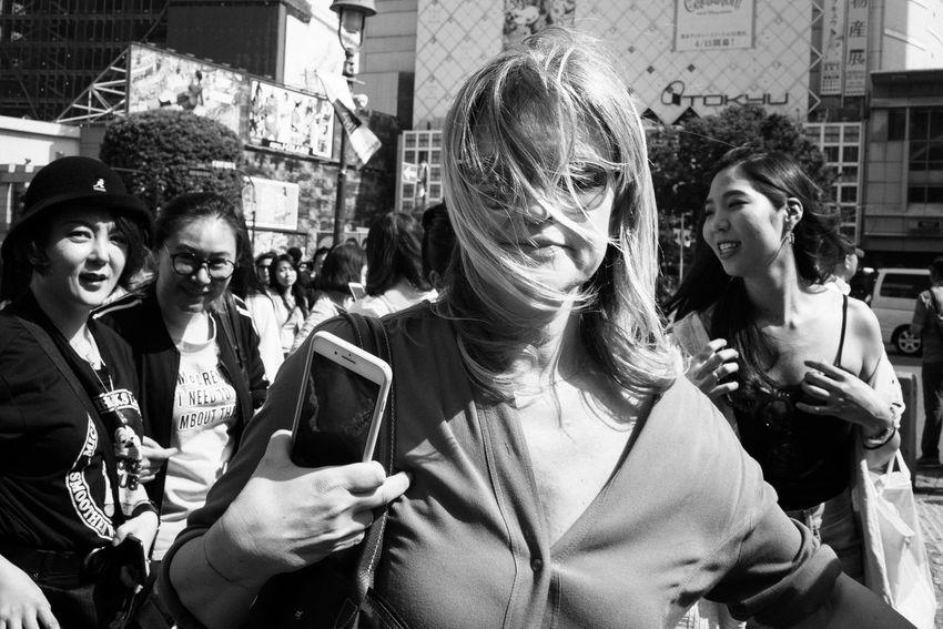 Shibuya, Tokyo, Japan, 2018 Blackandwhite Streetphotography The Street Photographer - 2018 EyeEm Awards