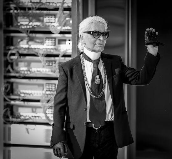 Bye bye Karl Chanel Karl Lagerfeld Haute Couture Pret-a-porter Bye Bye Karl Designer  Designer4life Designerslife Bnw Fashion The Week on EyeEm Chanel 2016