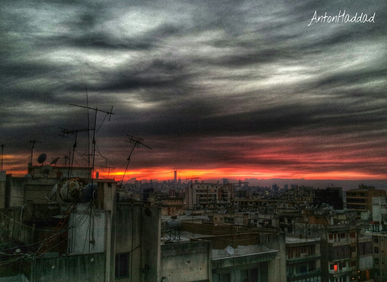 architecture, built structure, building exterior, sky, no people, cloud - sky, sunset, outdoors, cityscape, day, city