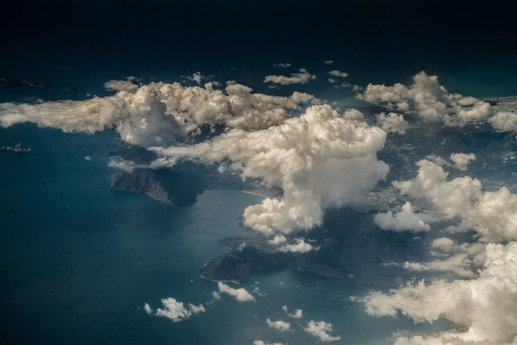 Aerial View Approach Close-up Coastline Day Nature No People Outdoors Sea Sky Tranquility Water World From Above