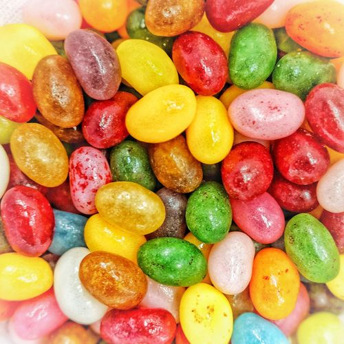 Jelly Bean Multi Colored Backgrounds Close-up Sweet Food Food And Drink Gelatin Dessert Candy Candy Cane Candy Store Sweet