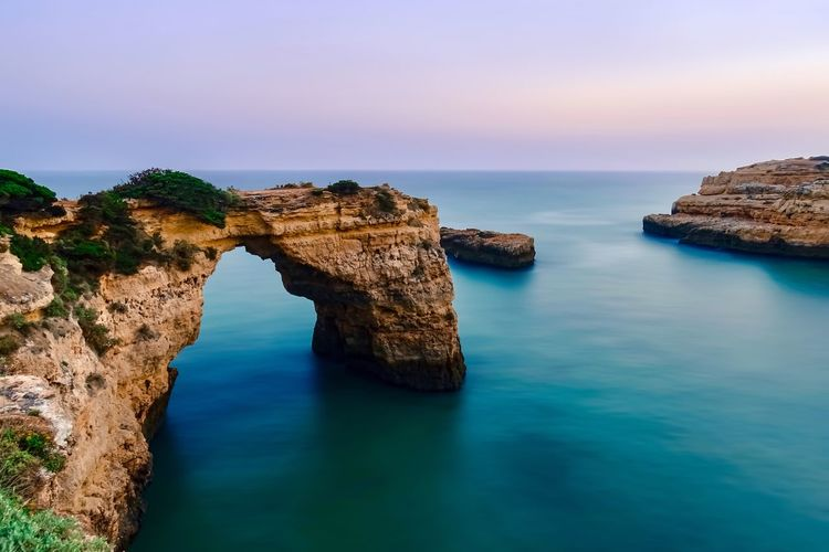 Arc Bay Scenics Sea Nature Beauty In Nature Rock Formation Tranquility Water Tranquil Scene Natural Arch No People Cliff Sky Sunset Sunsets EyeEm Best Shots Eye4photography  EyeEmNewHere EyeEm Nature Lover