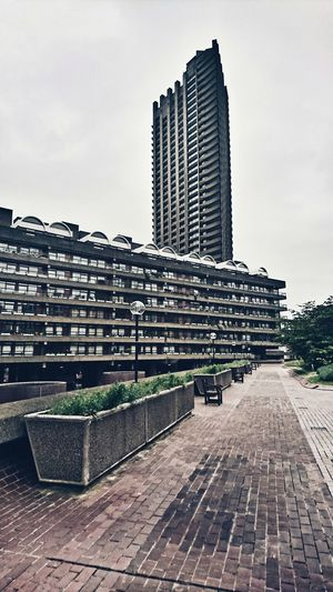 Barbican Barbican Estate Barbican Centre London Architecture Brutalism Brutalist Architecture Brutal London Architecture Skyscraper Urban Skyline Building Exterior City EyeEm LOST IN London