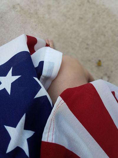 Close-up of flag