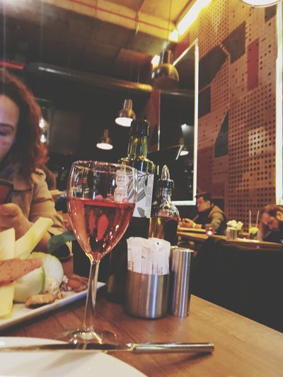Hayata Mola....Ankara Happy Hour Winetasting Wineglass Young Women Alcohol Drink Bartender Wine Party - Social Event Cocktail