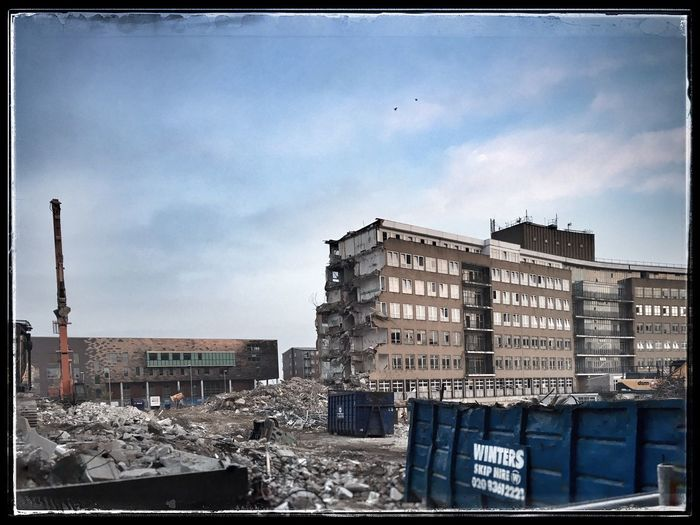 The end is near Architecture Demolition Building Exterior Destruction Destroyed Buildings Make Way End Of An Era