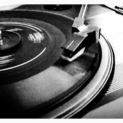 Retro ' Vintage Disc Music bestshot b&w instabest instacool