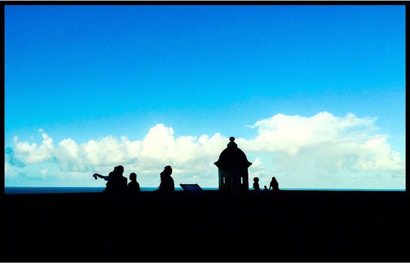 Blue Sky Sanjuan Puerto Rico Discoverpuertorico Skyporn Prphotoproject Puertoricotourism Meganvazquezphoto Viejo San Juan Capital