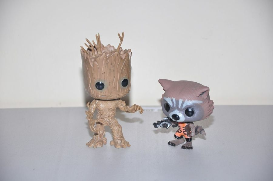 Groot Rocket Racoon Guardians Of The Galaxy Funko Funkopop Funkopopvinyl Toy Photography