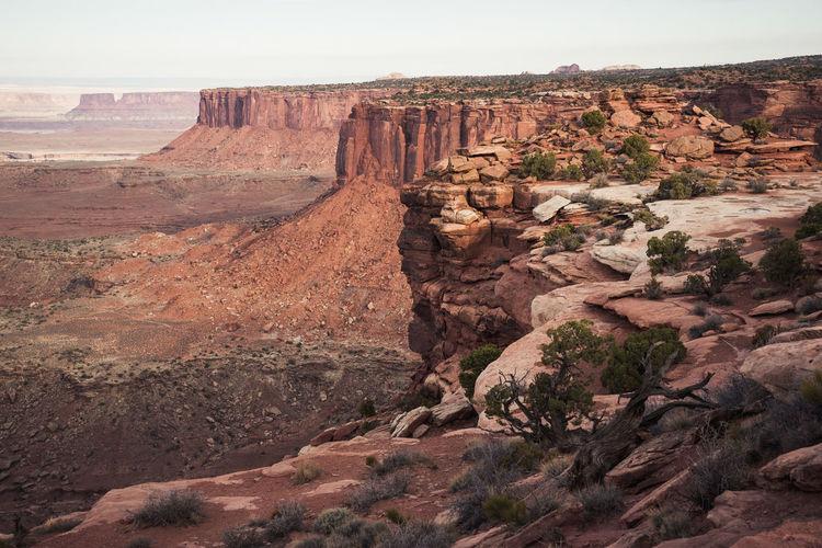 Rock Formation Landscape Tranquil Scene Travel Destinations Cliff Outdoors