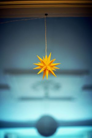 Background Close-up Day Decoration Fragility Indoors  No People Star Yellow Star