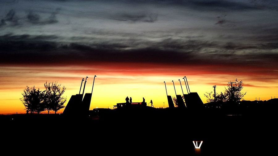 Taking Photos Check This Out Streamzoofamily Tadaa Community Sun_collection Sunset Silhouettes Yvrairport