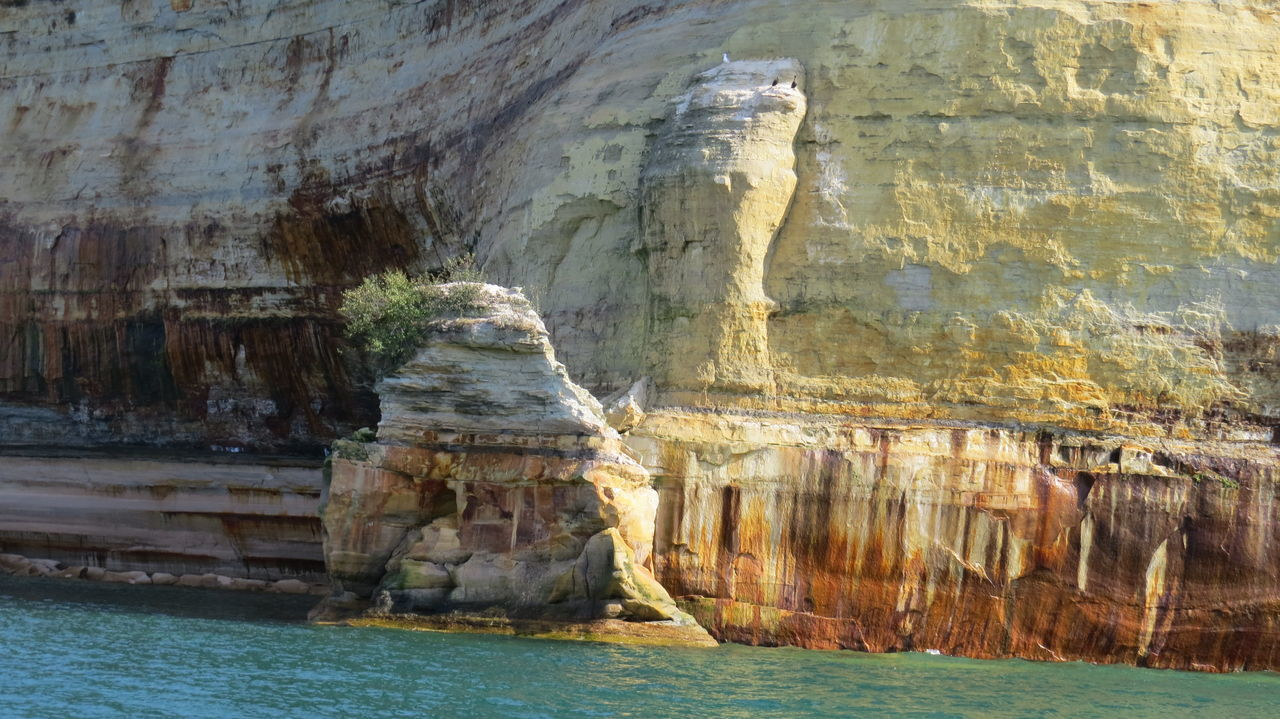 rock formation, rock - object, geology, nature, physical geography, beauty in nature, cave, scenics, day, tranquility, water, no people, tranquil scene, cliff, outdoors, rock face