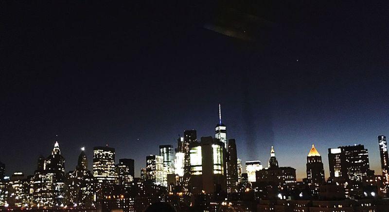 NYC Skyline Hello World Enjoying Life