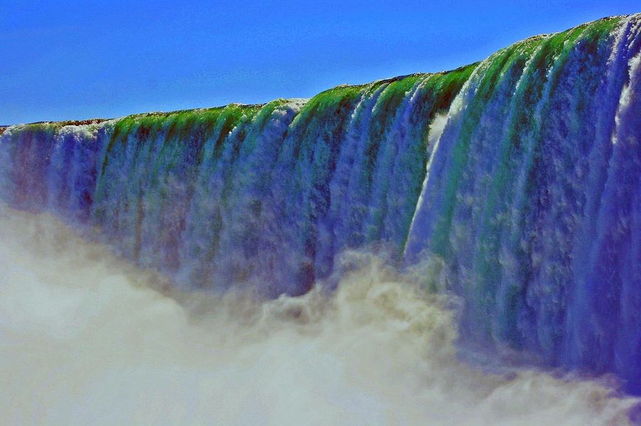 Beautiful Interesting Perspectives Niagara Falls Canada Niagara Falls PhotoMagik-Pix Beauty In Nature Close-up Nature Outdoors Photography Photowalk Postcard Picture