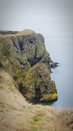 Cliffside Bullers Of Buchan Seaside