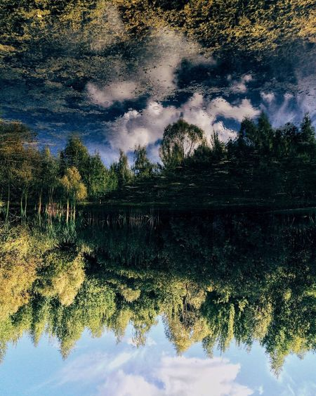 Reflection Nature Water Reflection Lake Lake Tree Beauty In Nature Outdoors No People Landscape Sky Sunset Scenics Astronomy Star - Space Day Russia Kazan Tatarstan Mirrored Galeev
