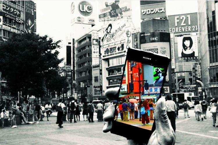 Mobile Conversations Japan Tokyo Street Photography Japan Photography Japanese Photography Tokyo,Japan 渋谷駅前スクランブル交差点 Shibuya
