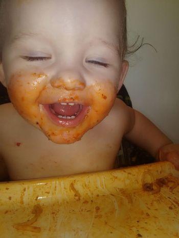 Spagetti Night Headshot Human Body Part Close-up Enjoyment Human Face Smiling Child Eating Spagettii One Boy The Portraitist - 2017 EyeEm Awards EyeEmNewHere