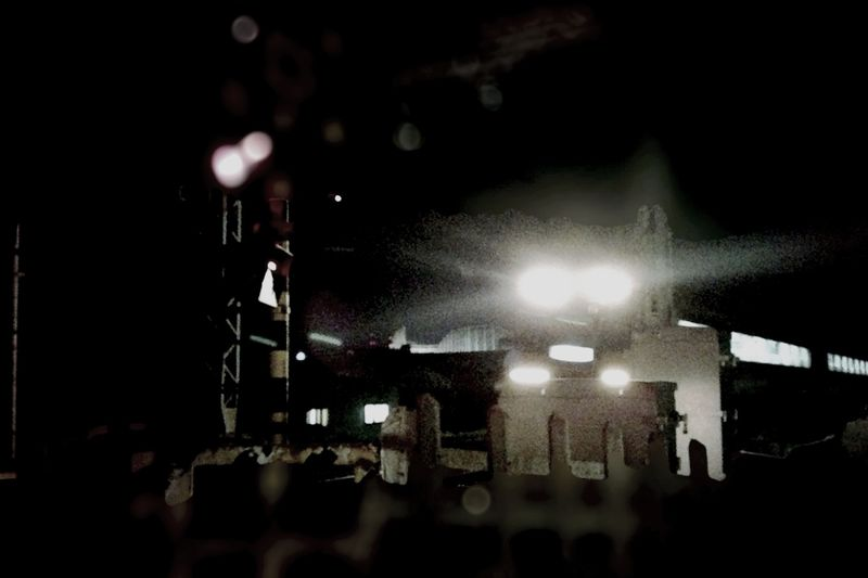 IPhoneography 灯り Goodnight Train