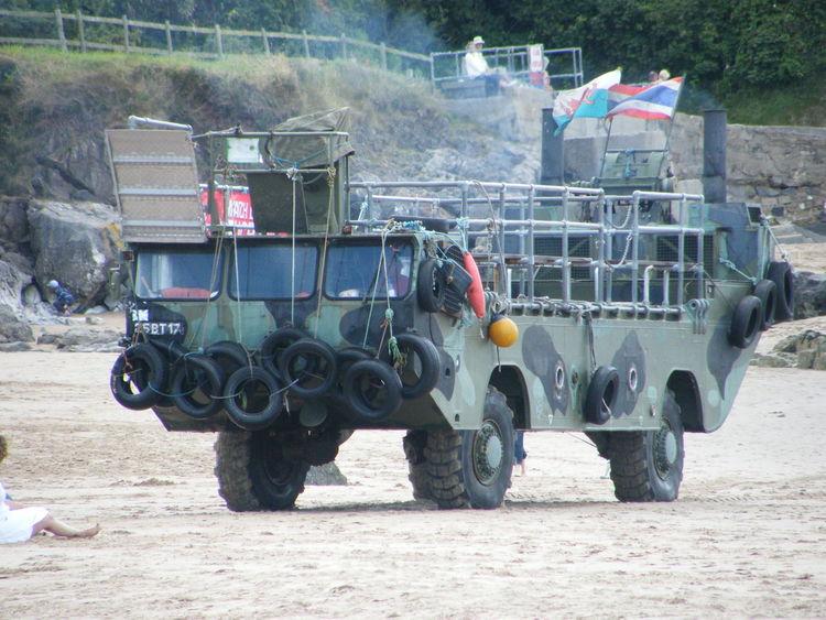 Amphibian Amphibious Vehicle Day Land Vehicle Outdoors Russian Truck Sea Vehicle Pembrokeshire Pembrokeshire Coast Caldey Island