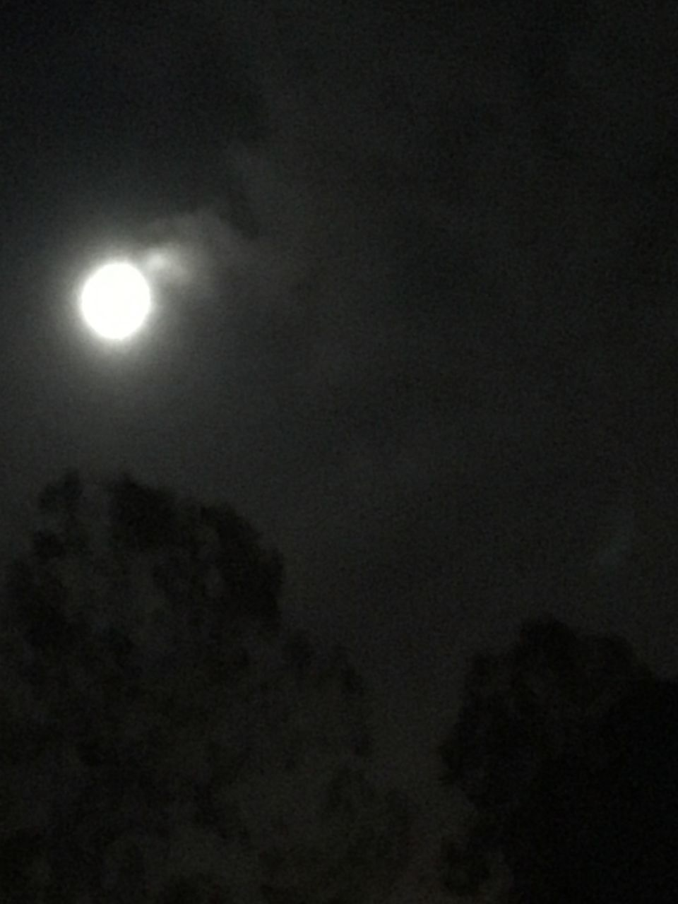 moon, night, moonlight, dark, astronomy, sky, illuminated, cloud - sky, no people, space, solar eclipse, spooky, outdoors, nature, half moon